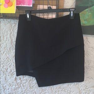 Astr asymmetrical skirt